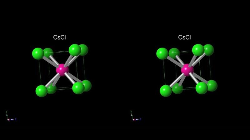 3D Molevular VR_CsCl
