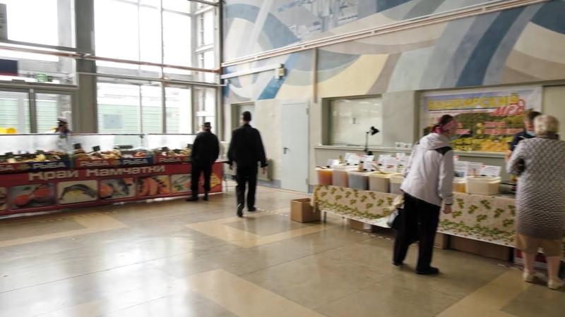 Ярмарка Осенний калейдоскоп открывается на ж д вокзале