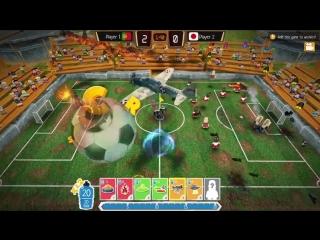 Crazy soccer межпланетный футбол уже здесь!