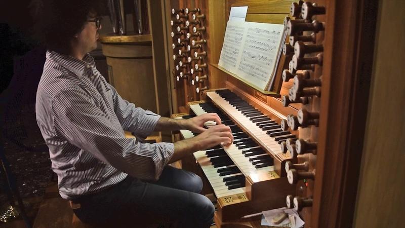 Dietrich Buxtehude - Praeludium BuxWV 137 (M. Gabba - Mascioni organ)