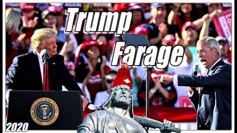 Nigel Farage Donald Trump ist der belastbarste und mutigste Mensch den ich kenne