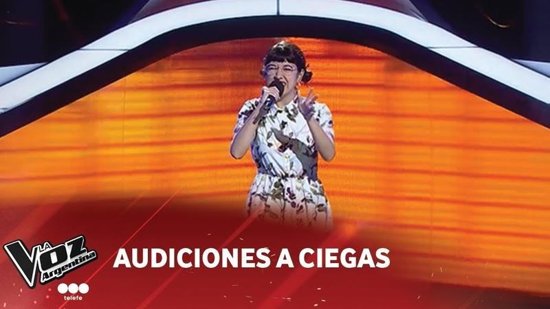 Aymara Aybar - Piel canela- Trío Los Panchos - Audiciones a Ciegas - La Voz Argentina 2018
