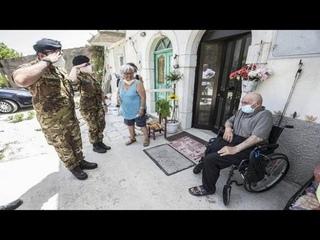 Vaccino, l'Esercito in Molise per raggiungere i più fragili: «Piangono per la gioia»