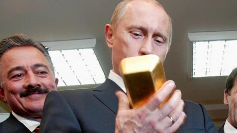 Началось После обращения Путина из России начали Тоннами вывозить Золото на Запад