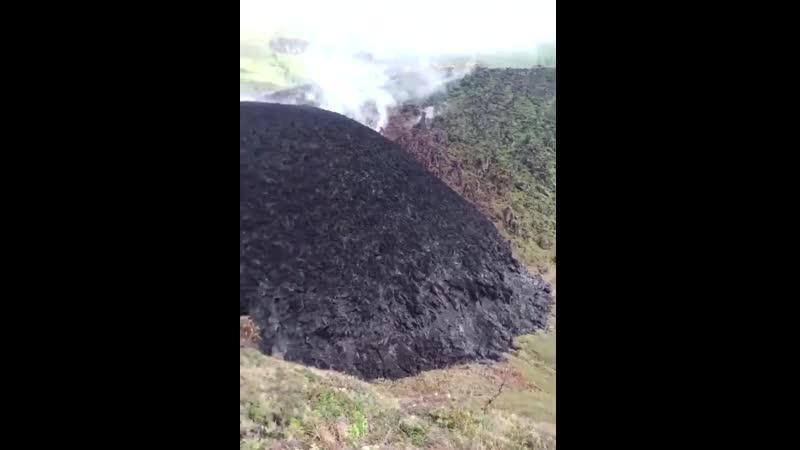 13 01 2021 Сент Винсент и Гренадины Вулкан Суфриер лавовый купол продолжает расти