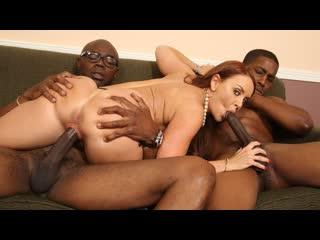 [BlacksOnBlondes] Janet Mason 4 [HD 720, 2 on 1, Big Tits, Black, Blowjob, Cougars, Creampie, Interracial, MILF, Sex]