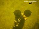 Подводный поиск золота с металлоискателем!