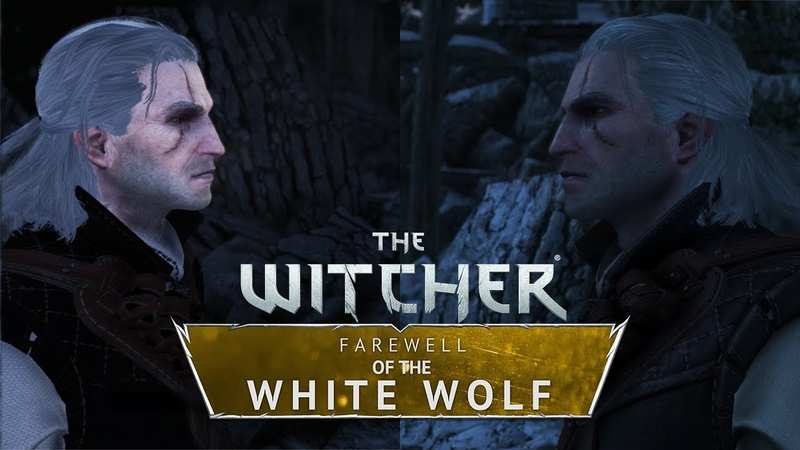The Witcher Farewell of the White Wolf 2018 vs 2020 Graphics Comparison