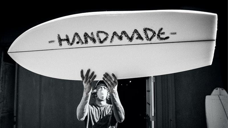 HANDMADE A Tribute To DIY Shaping feat the World's Best Surfer Shapers SURFER