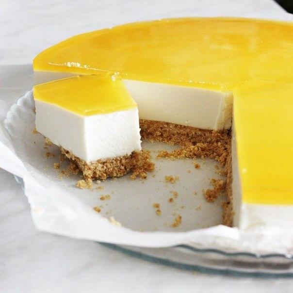 Торт-суфле с творогом