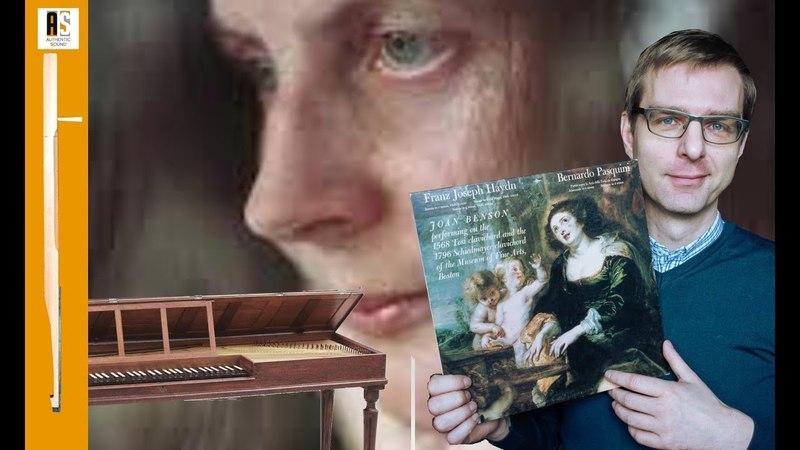 Joan Benson Pasquini and Haydn on Historical Clavichords 1982