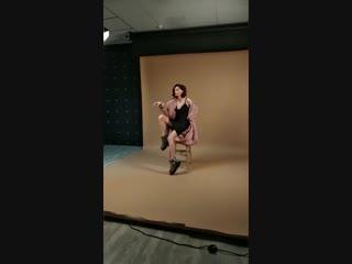 модель Photomodel style на фотосессии (backstage)
