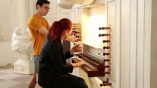 J. Brahms. Präludium und Fuge a-moll, WoO 9 Natalia Ryabkova, Orgel