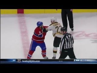 Shawn Thornton vs Brandon Prust Dec 5, 2013
