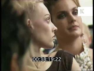 1997 Graduate Fashion Week, Backstage, London