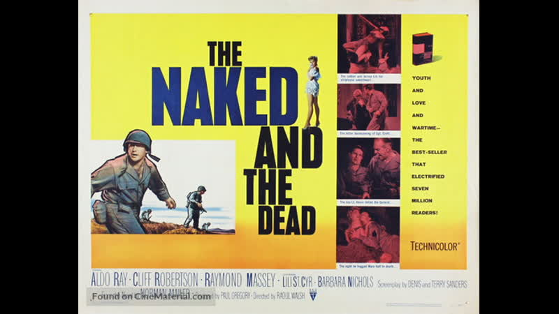A Morte Tem Seu Preço (The Naked and the Dead) (1958) Legendado