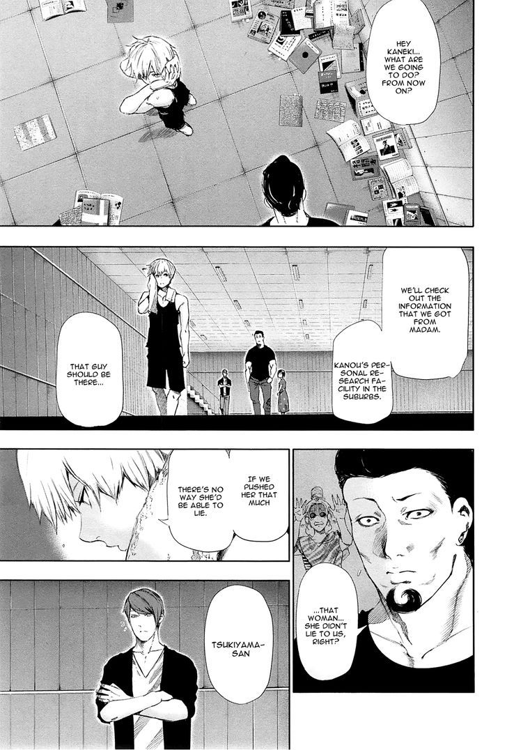 Tokyo Ghoul, Vol. 10 Chapter 94 Inner Thoughts, image #14