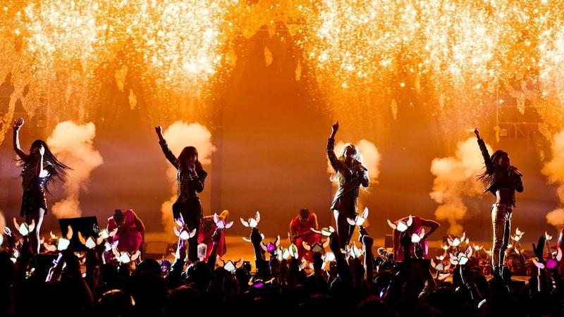 2NE1 'CRUSH' LIVE PERFORMANCE