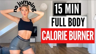 Mary Braun -- 15 MIN. FULL BODY CALORIE BURNER - no jumping | Тренировка для тонуса и похудения всего тела без прыжков