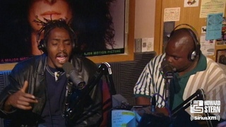 """Coolio ft. L.V. """"Gangsta's Paradise"""" on the Howard Stern Show (1995)"""