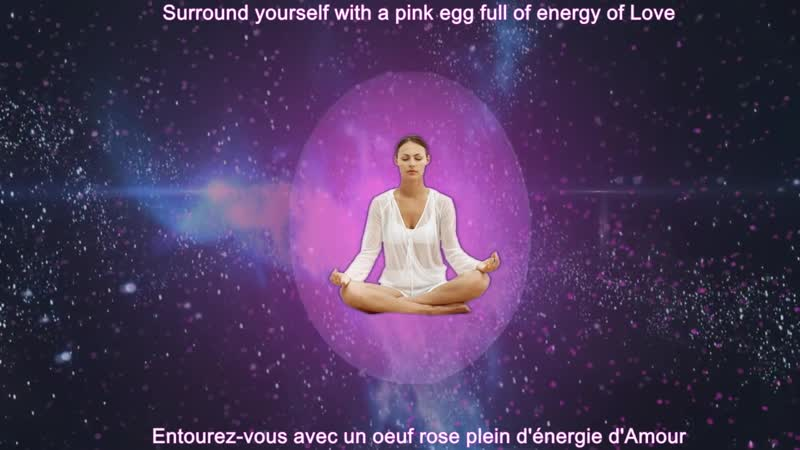 PINK EGG MEDITATION _ MÉDITATION DE L'OEUF ROSE (COBRA - PFC WORLD)