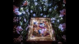 """Рождественская колядка """"В темную нiчку"""". Солист иерей Сергий Ендовицкий."""