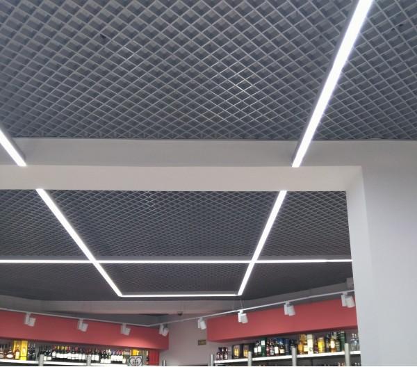 Встраиваемые квадратные светильники в потолок в Бресте
