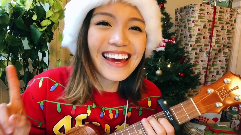 All i want for christmas is you ukulele karimba cover