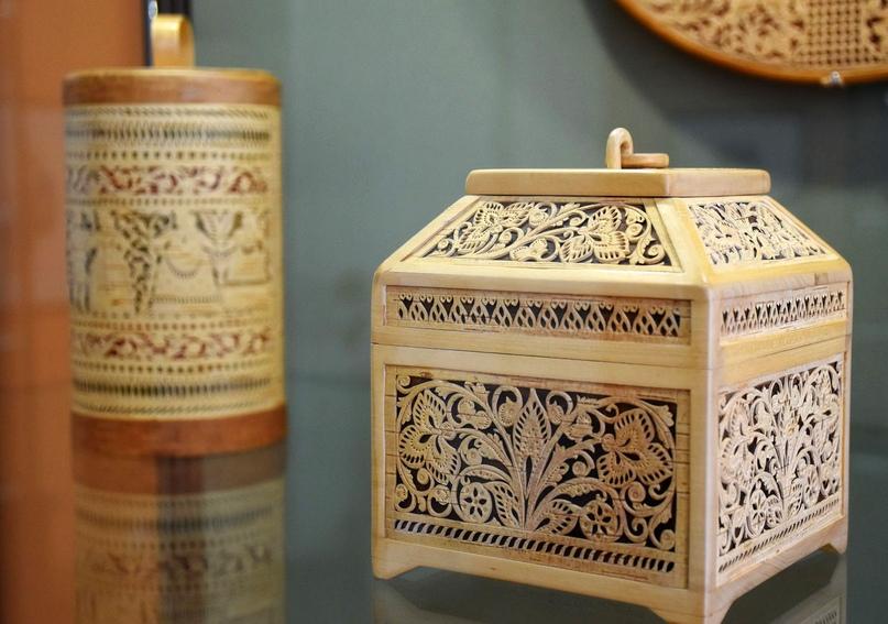 «Берестяные кружева Татьяны Вязовой» украсили Великоустюгский музей-заповедник💛