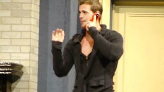"""2009г. Уильям Леви в спектакле """"Любовник на заказ""""."""