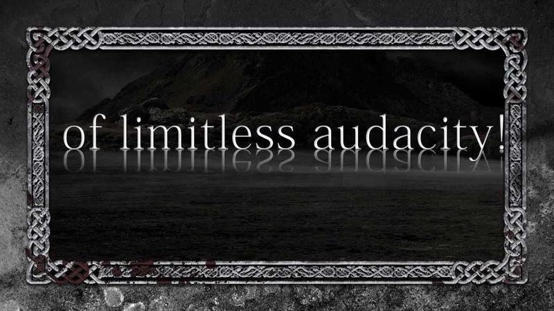 GWYDION Veteran Lyric Video Atmospheric Symphonic Black Viking Folk Metal Portugal