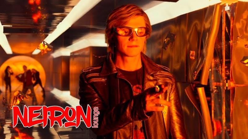 Ртуть спасает детей мутантов Взрыв школы Икс Кадры из фильма Люди Икс Апокалипсис 2016