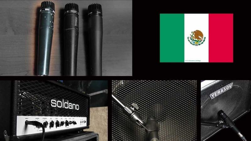 5 Militant Guitars Shure SM 57 Family USA vs Mexico vs China