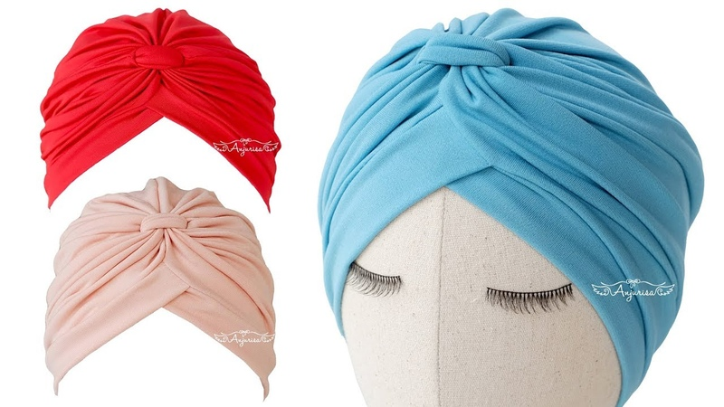 Classy Turban Hat Sewing Pattern Turban Cap for Baby
