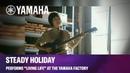 """Yamaha Revstar Steady Holiday Performs """"Living Life"""" at the Yamaha Factory in Hamamatsu Japan"""