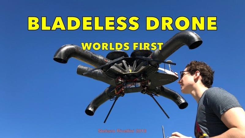 Bladeless Drone First Flight