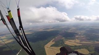 Полёт на параплане с орлами! Самый волнительный полёт!