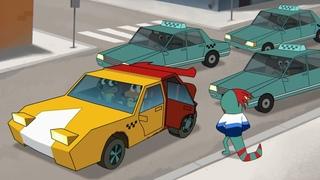 Мультфильм Лекс и Плу: Космические таксисты - 14  серия HD