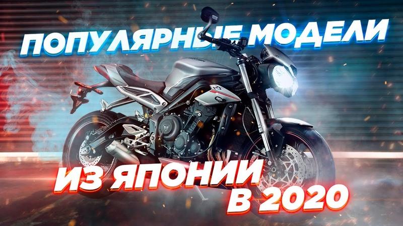 Популярные модели мотоциклов привозимых из Японии в 2020 с разделением по классам Тренды в кризис