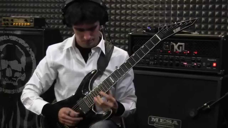 Alexi Laiho Style Quick Licks cover by Albert Paul