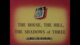 """ STAR SPANGLED CITY "" WASHINGTON D.C. 1965 AMERICA! TV SHOW EPISODE  PART 1   11464"