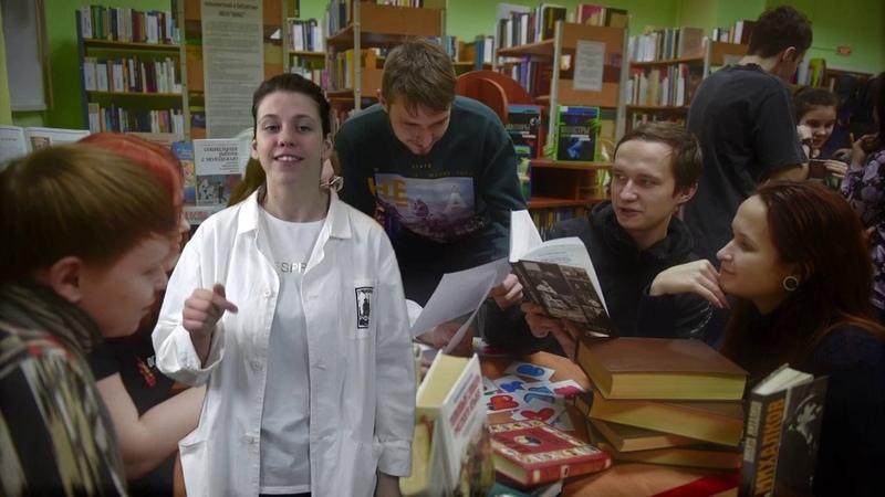 Nuclear Girls МБОУ Гимназия №2 города Сарова Speech по книге Белые одежды