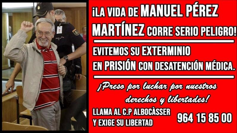 Pablo Hasél - MANUEL PÉREZ MARTÍNEZ