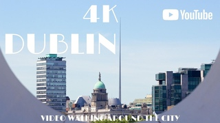 Dublin Ireland 🇮🇪 Walking in Europe in 4K Dji Osmo Pocket
