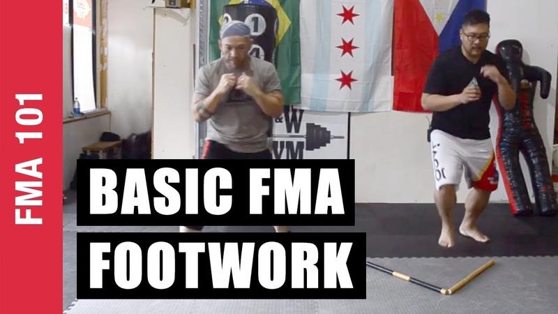 Basic Filipino Martial Arts Footwork Kali Eskrima Arnis FMA 101 EP 04