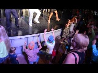 """""""Клубный танец"""" отель Ganita Holiday Club,Турция, Алания май 2014 г"""
