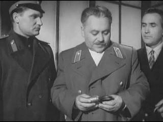 НОЧНОЙ ПАТРУЛЬ ( 1957 г. ) Детектив СССР