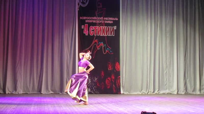 Коллектив индийского танца Индиана Зубкова Дарья болливуд микс