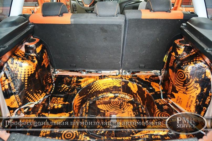 Комплексная шумоизоляция Lada Kalina Cross, изображение №10