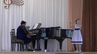 Мария Белова (флейта) и Ольга Повернова (ф-но) - Прелюдия и Вальс-каприс (2018; муз. С. Василенко); Ноктюрн (муз. В. Цыбина)